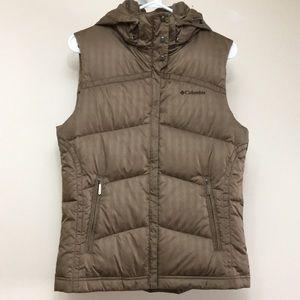 Columbia down vest jacket